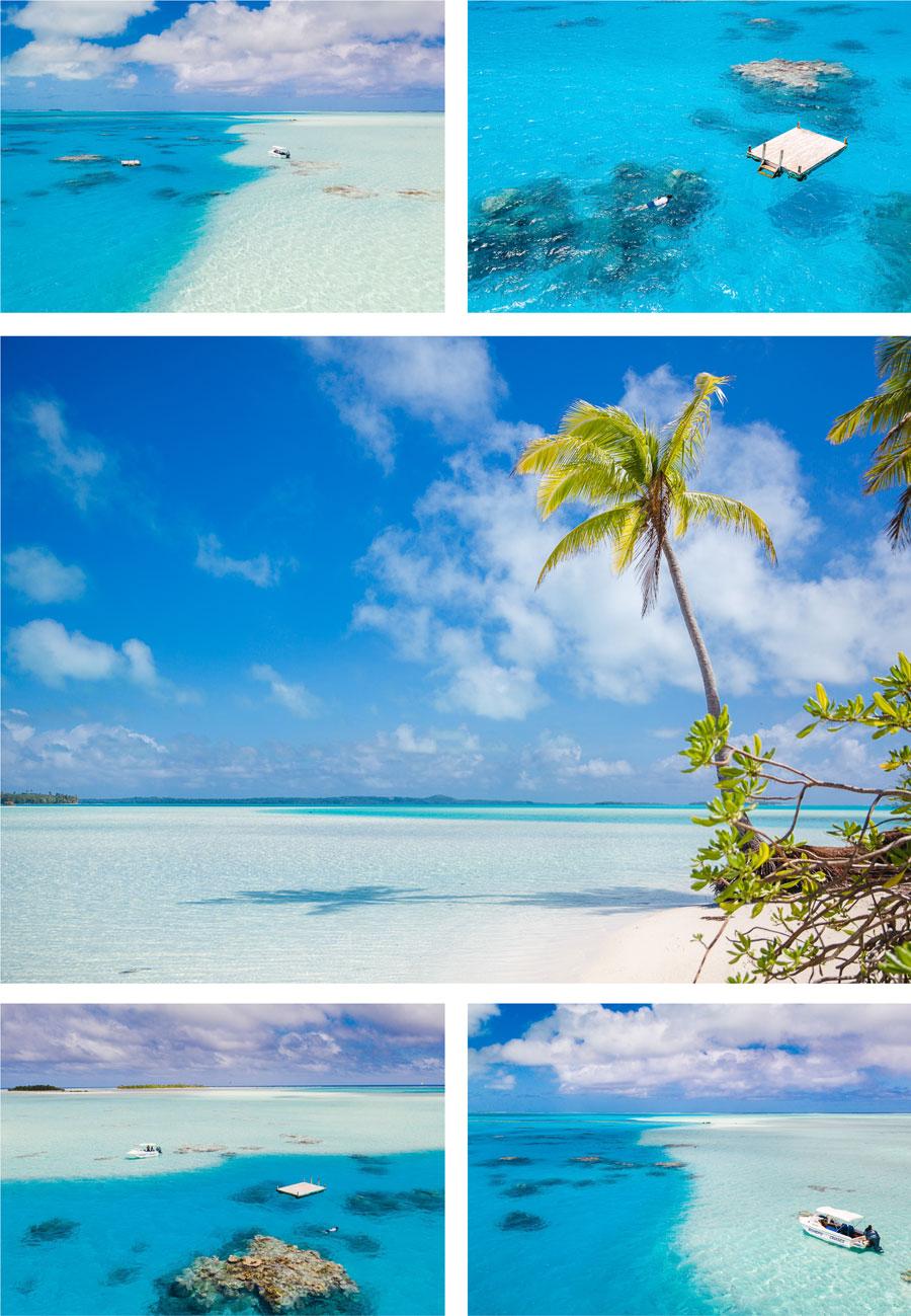 Schnorcheln in der Lagune von Aitutaki