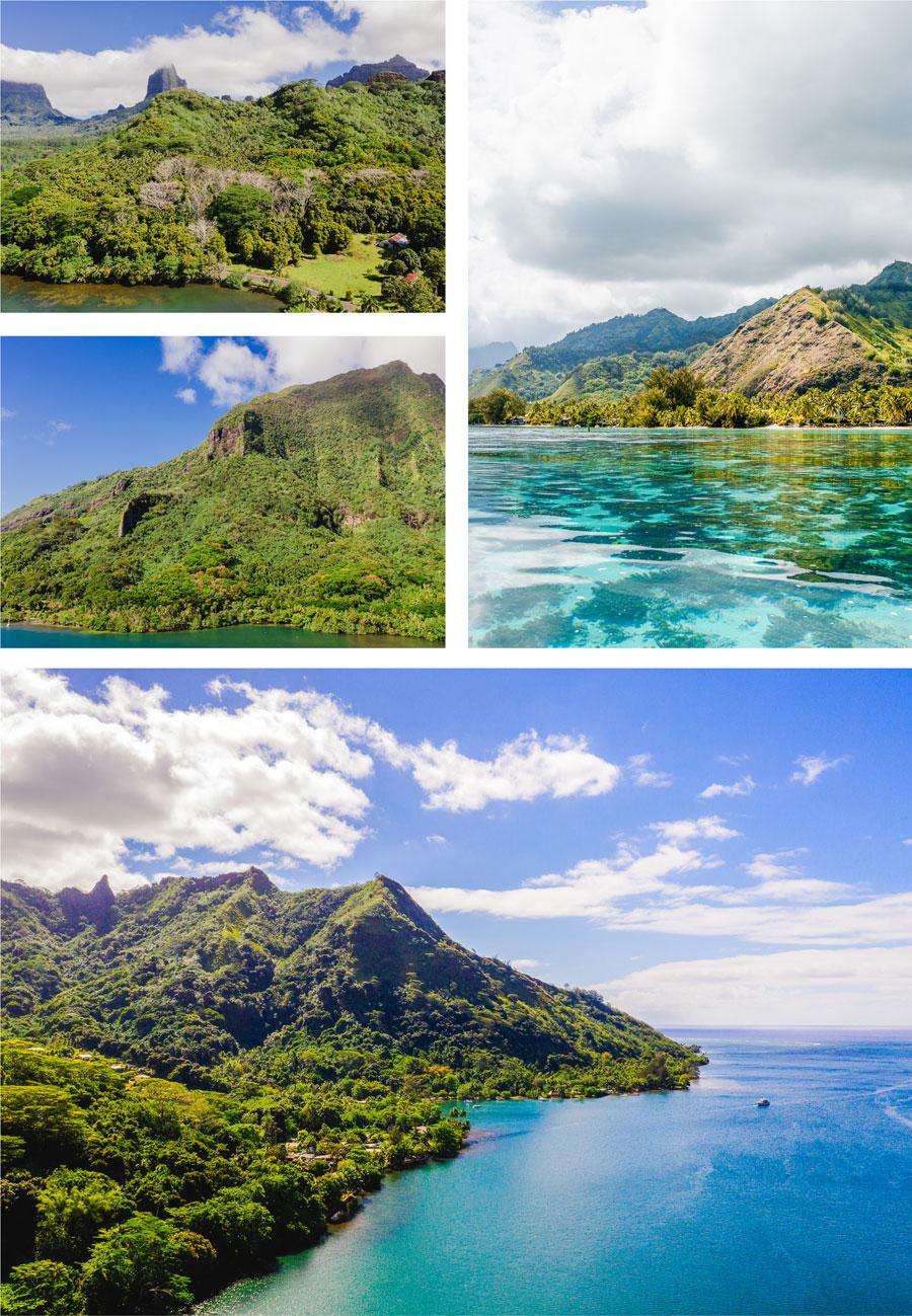 Flitterwochen - Hochzeitsreise - Moorea - Baie de Cook | Cook´s Bay