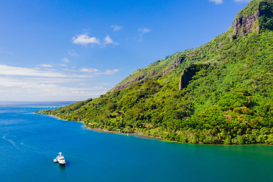 Flitterwochen - Hochzeitsreise Moorea - Baie de Cook | Cook´s Bay