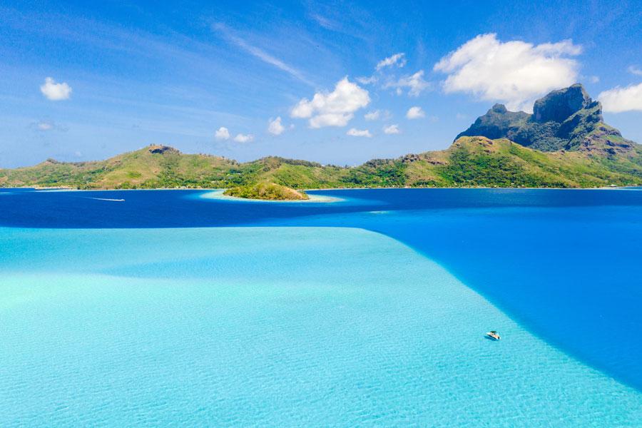 Flitterwochen - Hochzeit - Südsee - Bora Bora - Mont Otemanu