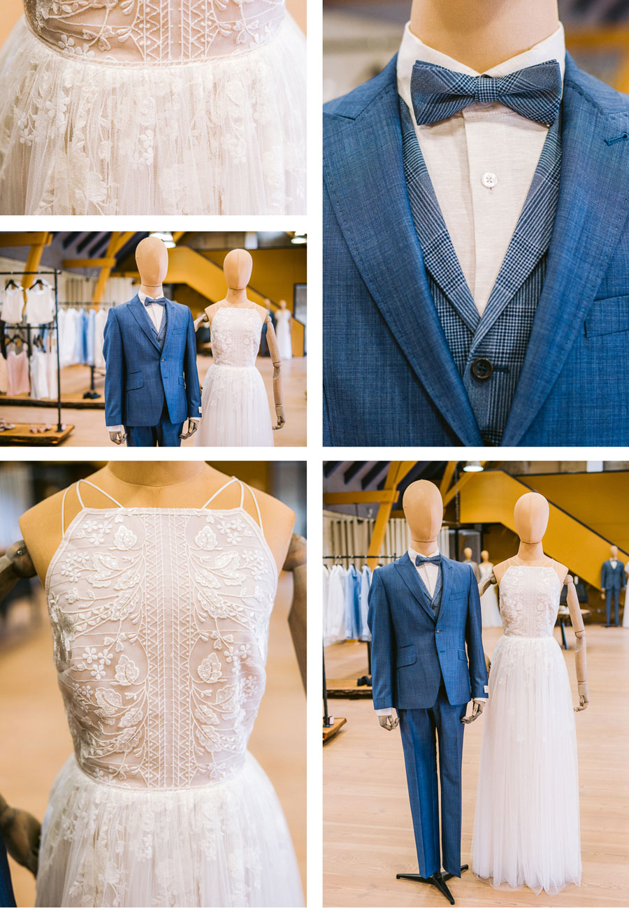 Nachhaltige Hochzeitsmode in der Boutique Liebe auf Burg Scharfenstein