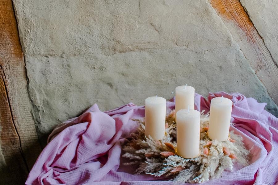 Hochzeitsdekoration in Kassel und Göttingen - Trockenblumen für die Winterhochzeit