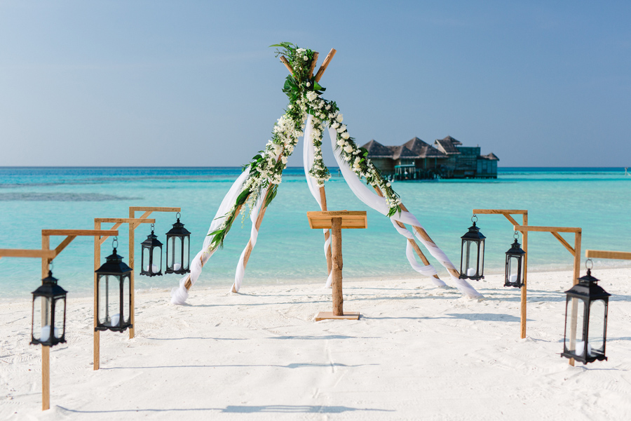 Heiraten auf den Malediven – Hochzeit zu zweit auf Gili Lankanfushi - Hochzeitsplaner Pretty Weddings